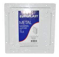 купить Дверца ревизионная 200 х 200мм - МЕТАЛЛ (под плитку)  MDU2020 Europlast в Кишинёве