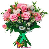"""купить Нежно розовый букет """"Rose"""" в Кишинёве"""