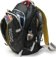 "Dicota D31048 Backpack Active black/yellow 14""-15.6"