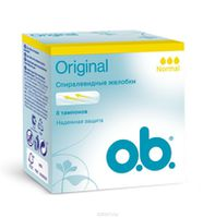 O.B. тампоны Original Normal, 8 шт