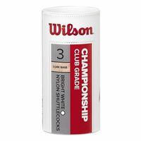 купить Воланчики для бадминтона (набор 3 шт.)  WILSON CHAMPIONSHIP 3PC WH77 WRT6040WH77 (3569) в Кишинёве