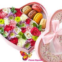 """купить Коробка в форме сердца """"Яркие впечатления"""" в Кишинёве"""