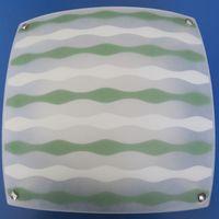 Светильник HF-MD1602 3*E27 белый-зелёный HF