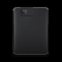 Внешний жесткий диск Western Digital WD Elements Portable External Hard Drive 5Tb((WDBU6Y0050BBK-WESN)