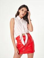 Блуза Jennyfer Белый в полоску