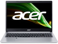 "ACER Aspire A515-45 Pure Silver (NX.A82EU.009) 15.6"" FHD IPS (AMD Ryzen 5 5500U 6xCore 2.1-4.0GHz, 8GB (2x4) DDR4 RAM, 256GB PCIe NVMe SSD+HDD Kit, AMD Radeon Graphics, WiFi6-AX/BT5, 3 ?ell, 720P Webcam, FPS, RUS, Backlit, No OS, 1.76 kg)"