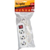 купить Удлинитель Navigator 71 454 NPE-S1-03-150-ESC-3x0.75 в Кишинёве
