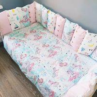 Комплект постельного белья в кроватку Pampy pink unicorn