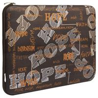 """Geanta laptop G-Cube GNH-13HB So Happy Together Hope, 13-14.1"""", Brown"""