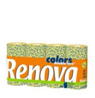 купить RENOVA Бумажные полотенца Deco Double Face (4) 8003322 в Кишинёве