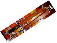 Инструменты для барбекю BBQ 2ед(нож и вилка с дерев ручками)