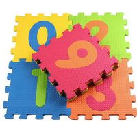 Essa Toys Пазлы напольные 10 штк