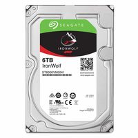 "Жесткий диск 3.5"" HDD 6.0TB  Seagate ST6000VN0033  IronWolf™ NAS, 7200rpm, 256MB, SATAIII"