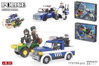 Color Baby 44343 Конструктор  Police