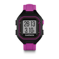 Forerunner 25  Small Black & Purple