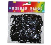 Набор резинок для денег 250шт, прямоугольные, черные