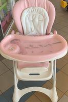 Scaun pentru hrănire, roz, cod 129607