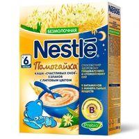 Nestle terci Помогайка 5 cereale fără lapte și flori de tei, 6+ luni, 200 g
