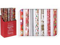 """купить Бумага оберточная для подарков H70cm, L8m, """"Новогодний дизай в Кишинёве"""
