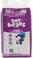 купить Dry Bears Soft&Thin 3 Mini (4-9 кг) 48 шт. в Кишинёве