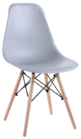 купить Деревянный стул с металлическими ножками, 500x460x450x820 мм, серый в Кишинёве