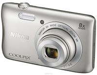 Фотоаппарат цифровой Nikon Coolpix S3700 SL