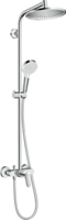 Sistema de  dus hansgrohe Crometta S 240 1jet Showerpipe cu mixer