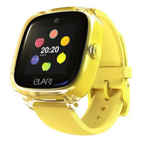 Детские умные часы Elari KidPhone Fresh, Yellow