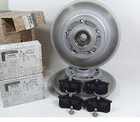 Диск тормозной задний с подшипником (комплект 2шт.)+Колодки тормозные задние RENAULT MEGANE II Kombi универсал 2003-2008 (Renault оригинал!)