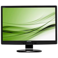 """21.5"""" Philips """"221S3LCB"""", Black (1920x1080, 5ms, 250cd, LED20M:1, D-Sub, DVI, HAS 70mm/Swivel) (21.5"""" TN LED, 1920x1080 Full-HD, 0.248mm, 5 ms, 250 cd/m², DCR 20 Mln:1 (1000:1), 16.7M Colors, 176°/170° @C/R>5, 30-83 kHz(H)/56-75 Hz(V), DVI-D + Analog D-Sub, HAS 70mm, Tilt: -5°/+20°,  Swivel +/-65°, VESA Mount 100x100, Black)"""