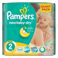 Pampers New Baby Mini 2 (3-6 кг.) 100 шт.