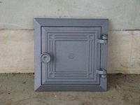 Дверца чугунная глухая инспекционная правая DKR3