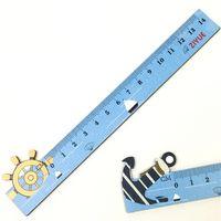 Линейка Море S-1351, деревянная, 12 см