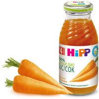 Hipp сок морковь с 4 мес. 200мл