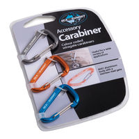 Набор карабинов Sea to Summit Universal set Carabiner, 3pcs, AABINER3