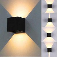 Бра - Настенный светильник LED 6W черный 9030-N