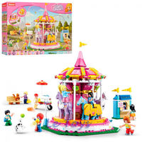 Sluban Girls Dream Constructor Merry Go Round