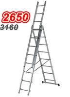 Ascara Лестница алюминиевая трехсекционная Elkop VHR TK 3x8