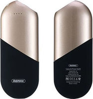 Remax Capsule Power Bank, 5000mAh, Gold