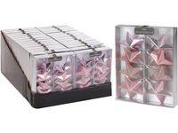 Набор звездочек 8X65mm, розовые