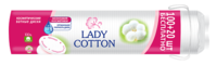 Ватные диски Lady Cotton,  100+20 шт.