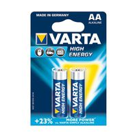 Батарейки Varta AA High Energy 2 pcs/blist Alkaline, 04906 121 412
