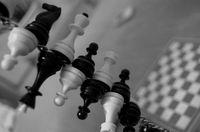 Картина напечатанная на холсте - Black & White 0017 / Печать на холсте