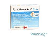 Paracetamol supp. 125mg N6 (Antibiotice)