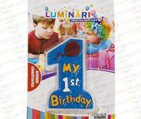 Свечи 1st Birthday MI008