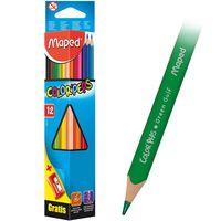 MAPED Карандаши цветные MAPED, 12 цветов + точилка