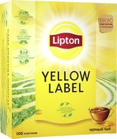 Lipton Yellow Label, 100 пак.