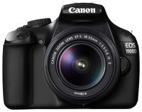 Фотокамера зеркальная Canon EOS 1100D IS KIT, EF-S 18-55