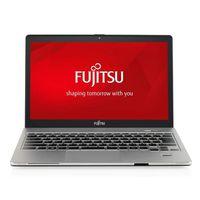 """Fujitsu Lifebook S904 (13.3"""" i5-4200 8Gb 500Gb+8Gb HD4400 Dos) Black/Silver"""