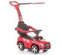 Машинка с ручкой Chipolino MERCEDES AMG  красный